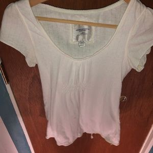 AMERICAN EAGLE Top Size M Womens White